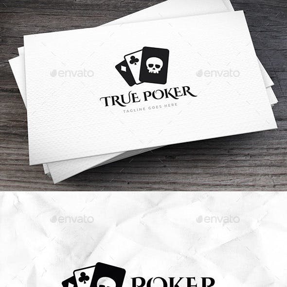 True Poker Logo Template