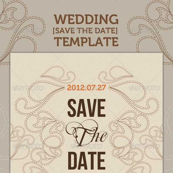 Wedding - 'Save the Date' - Romantic