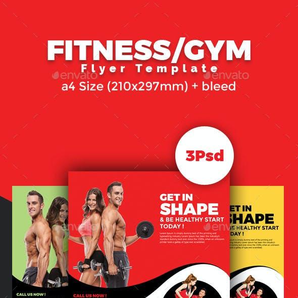 Fitness/Zym Flyer