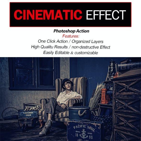 Cinematic Effect-Photoshop Action