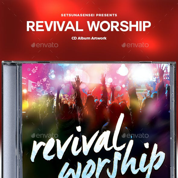 Revival Worship CD Album Artwork