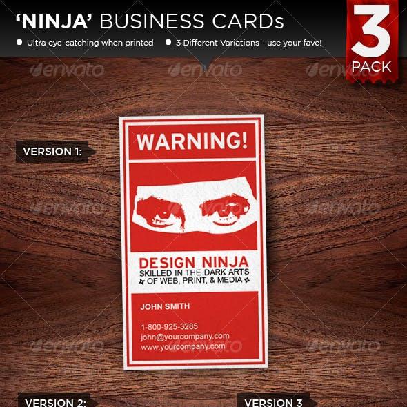 NINJA Business Cards