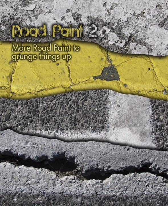 Road Paint 2 - Concrete Textures