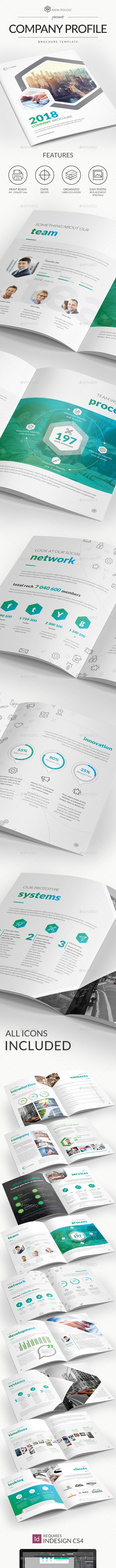 Corporate Brochure 2018 A4 - Brochures Print Templates