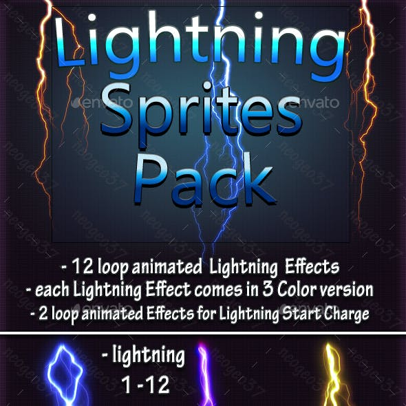 Lightning Game Assets from GraphicRiver