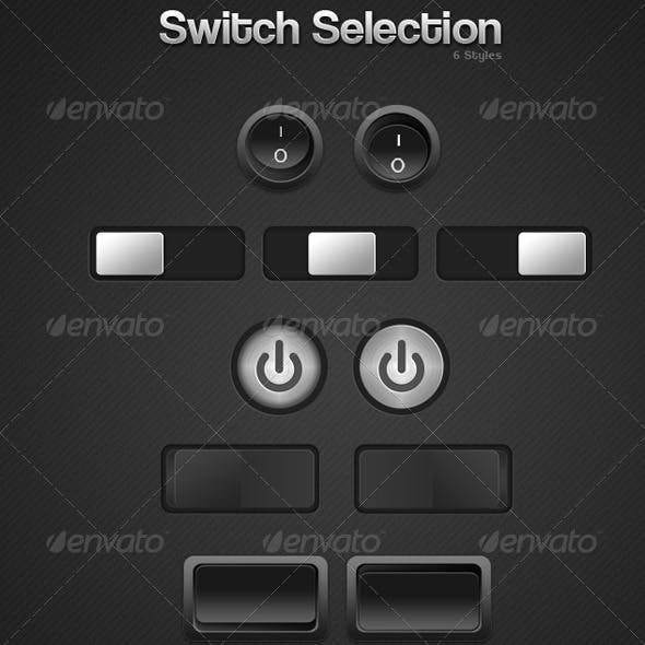 Switch/Button Selection