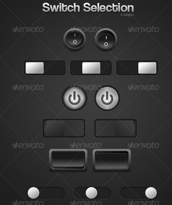 Switch/Button Selection - Buttons Web Elements