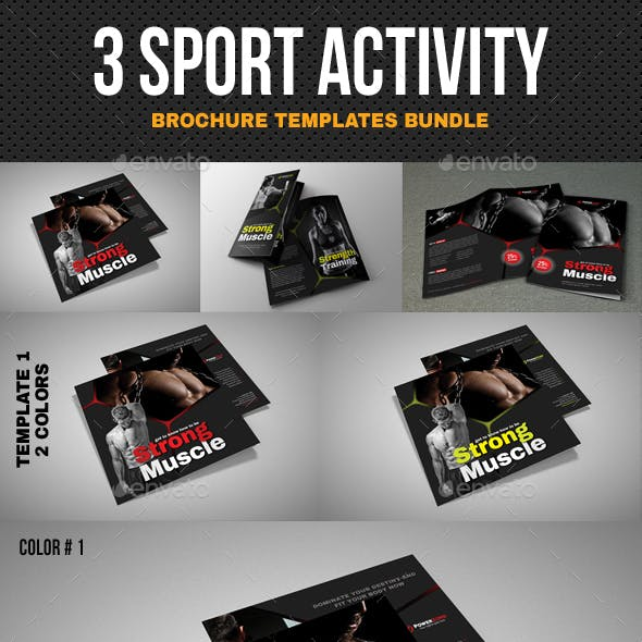 Sport Brochure Bundle