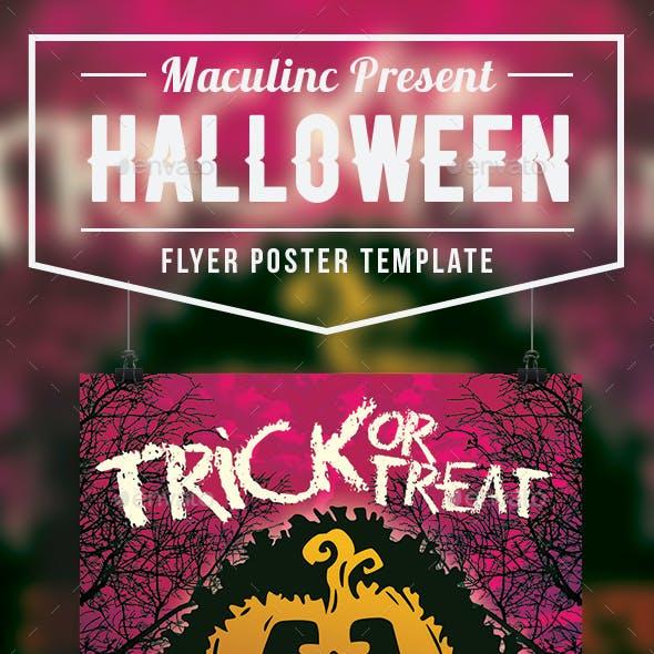 Halloween Flyer/Poster Vol.4