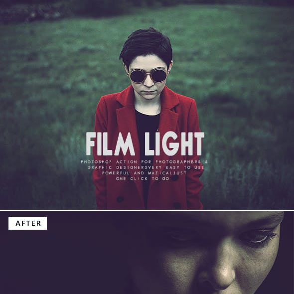 Film Light Photoshop Action