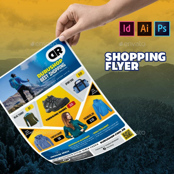 Shopping Flyer Template