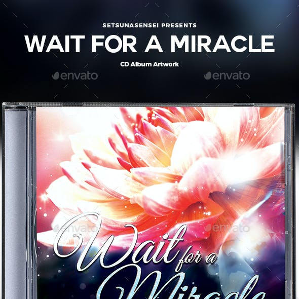 Wait for a Miracle CD Album Artwork