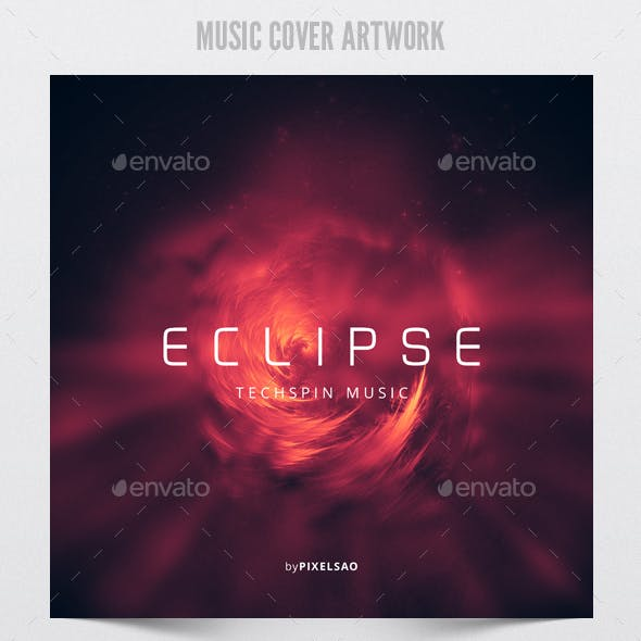 Eclipse - Music Cover Artwork Template