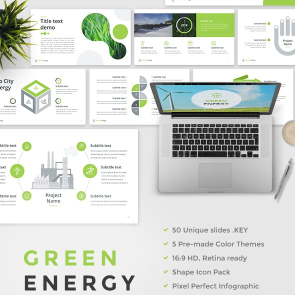 Green Energy - Keynote Template