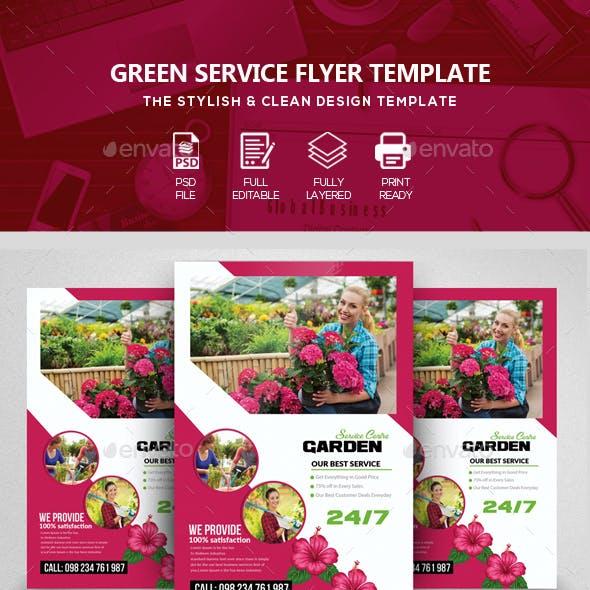 Gardening Service Flyer