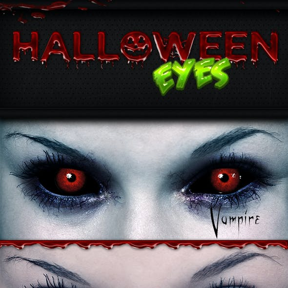 Halloween Eyes Photoshop Actions