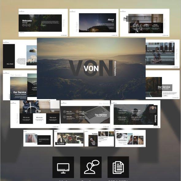 VON - Keynote Template