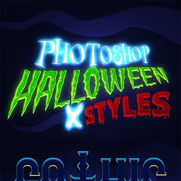 Halloween - 10 Photoshop Styles