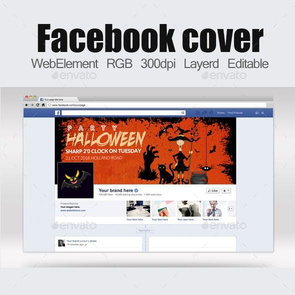 Halloween Facebook Timelines