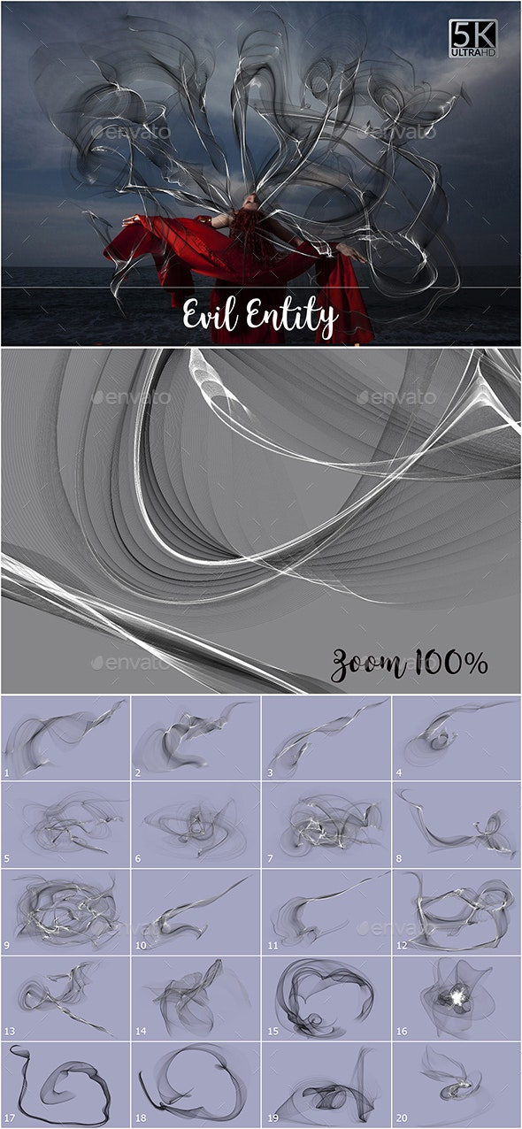 5K Evil Entity - Abstract Backgrounds