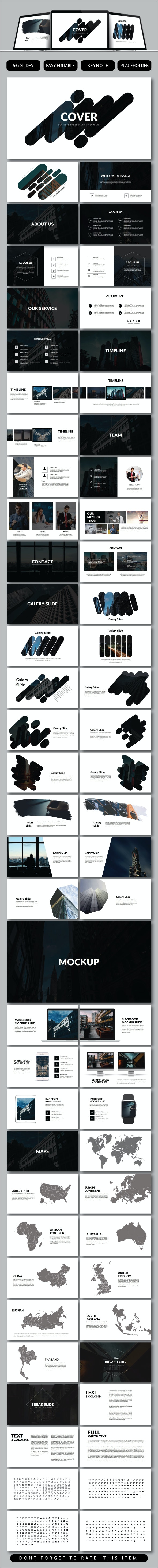 Cover Business Keynote - Keynote Templates Presentation Templates