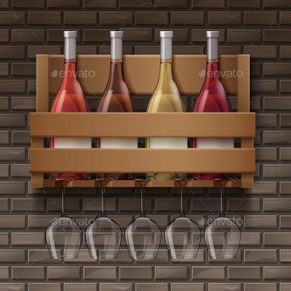 Set of Wine - Miscellaneous Vectors