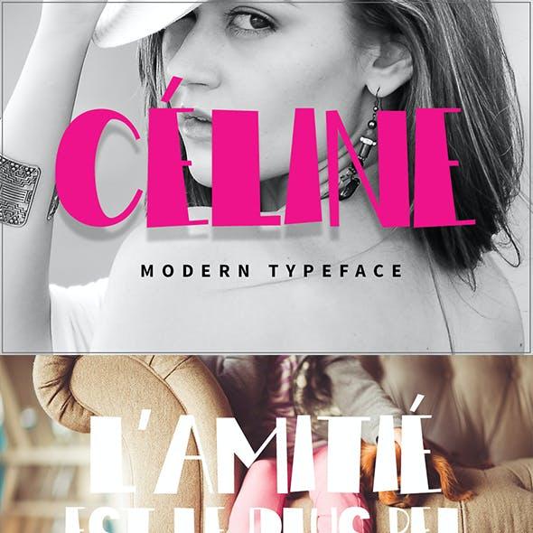 Céline Modern Typeface