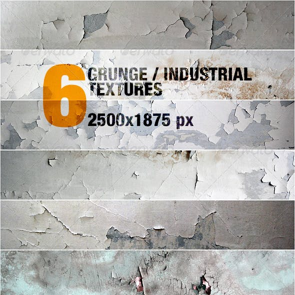 6 Grunge / Industrial Textures