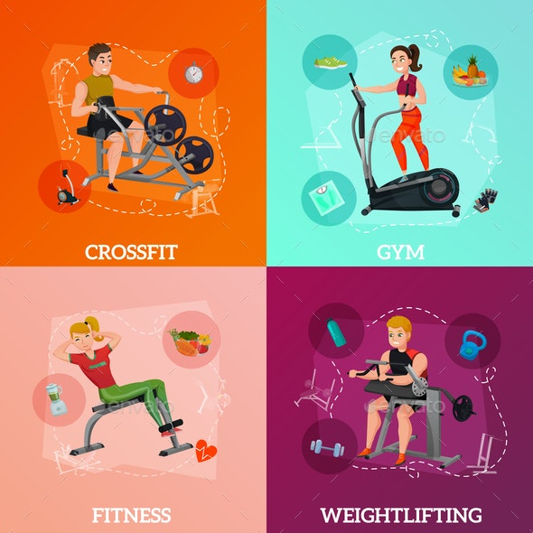 Exercise Equipment Concept - Sports/Activity Conceptual