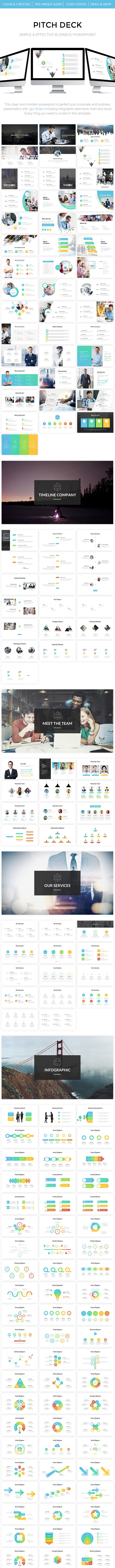 Business - Pitch Deck Powerpoint Template - Business PowerPoint Templates
