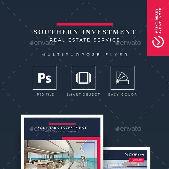 Southern Investment - Real Estate Flyer