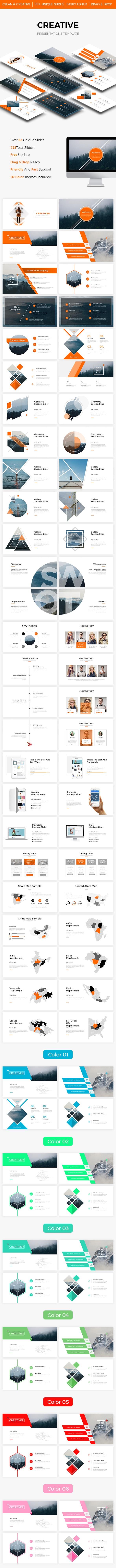Bundle 3 in 1 Creative Powerpoint Template - Creative PowerPoint Templates