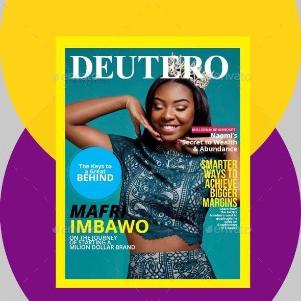 Deutero Multipurpose Indesign Magazine Template