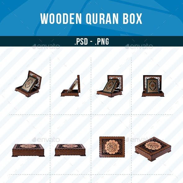 Wooden Quran Box Collection