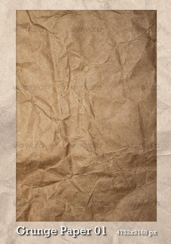 Grunge Paper 01 - Paper Textures