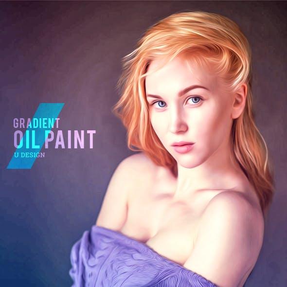 Gradient Oil Paint Photoshop Action