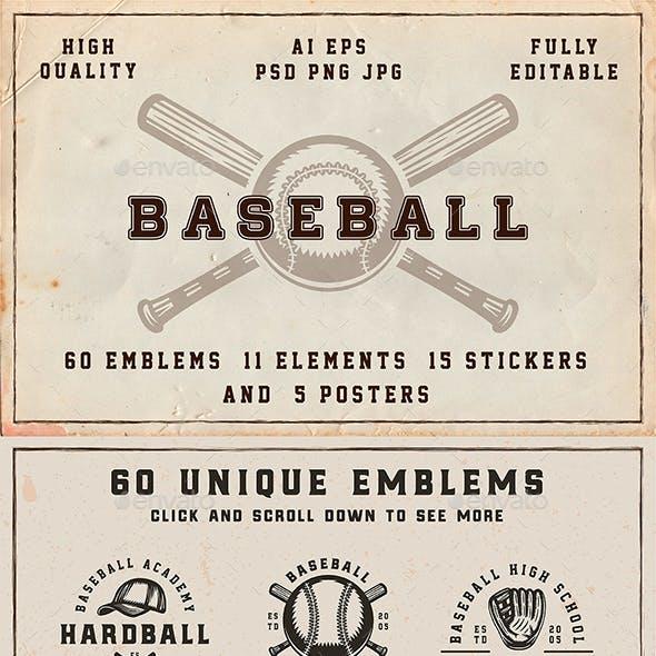 Vintage Baseball Emblems