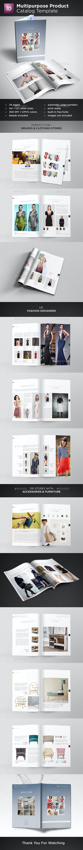 Multipurpose Product Catalog - Catalogs Brochures