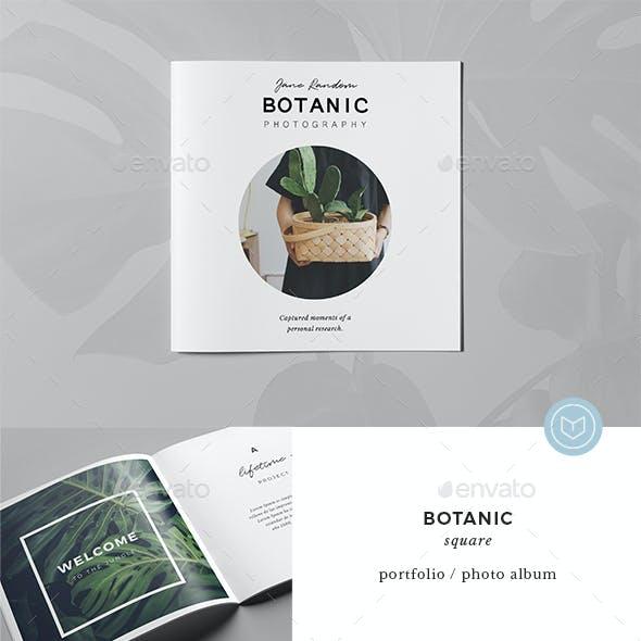 Botanic / Square Multipurpose Portfolio