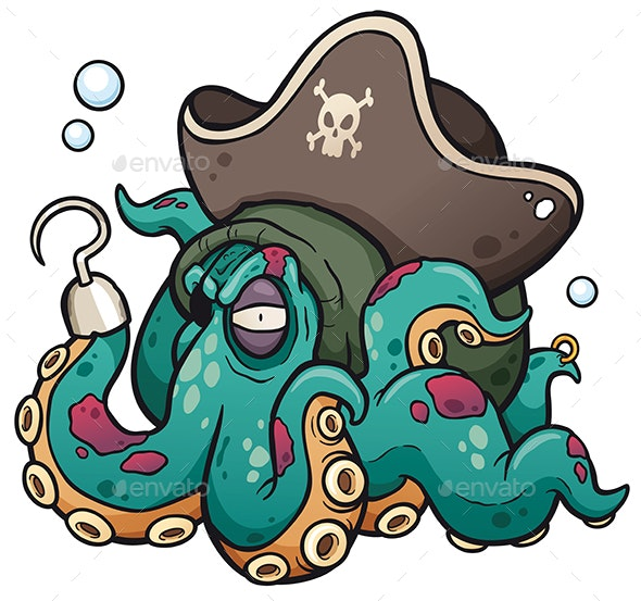 Octopus - Monsters Characters
