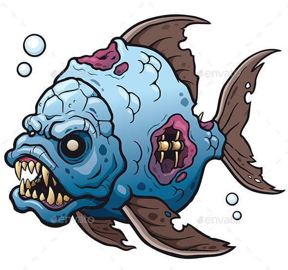 Fish - Monsters Characters