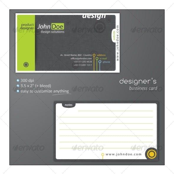 Designer's Bussiness Card