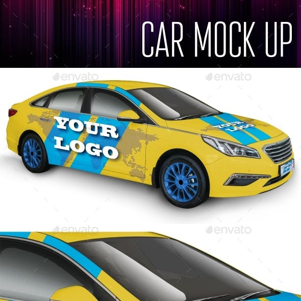 Car Mock Up