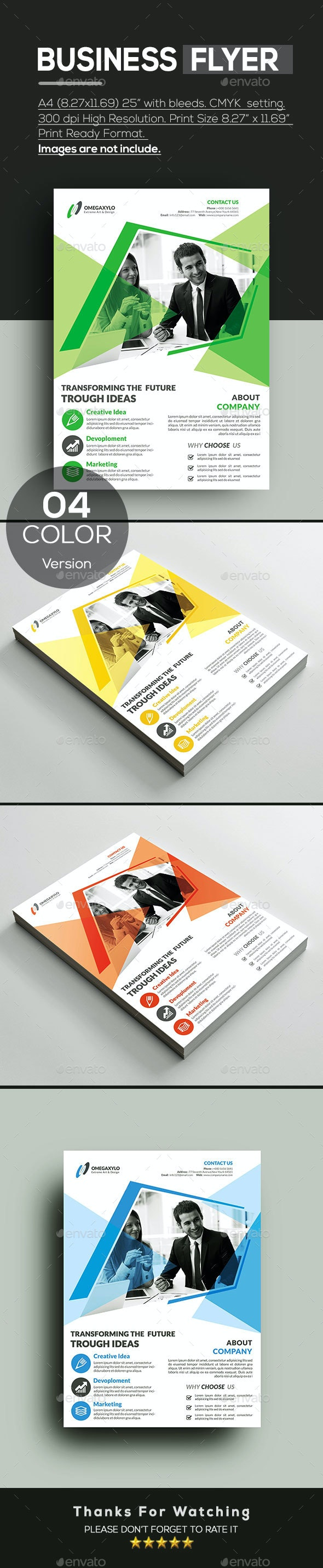 Business Card - Corporate Flyers