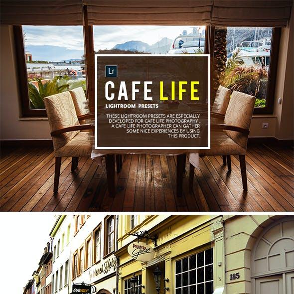 50 Cafe Life Lightroom Presets
