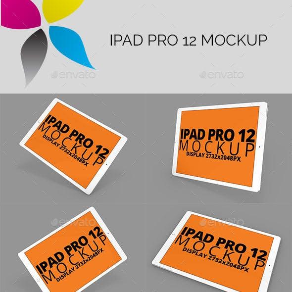 Pad Pro 12 Mockup