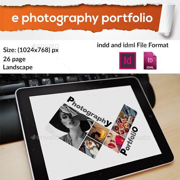 E photography portfolio