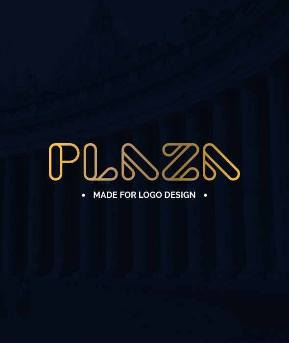 Plaza - Made for Logo Design