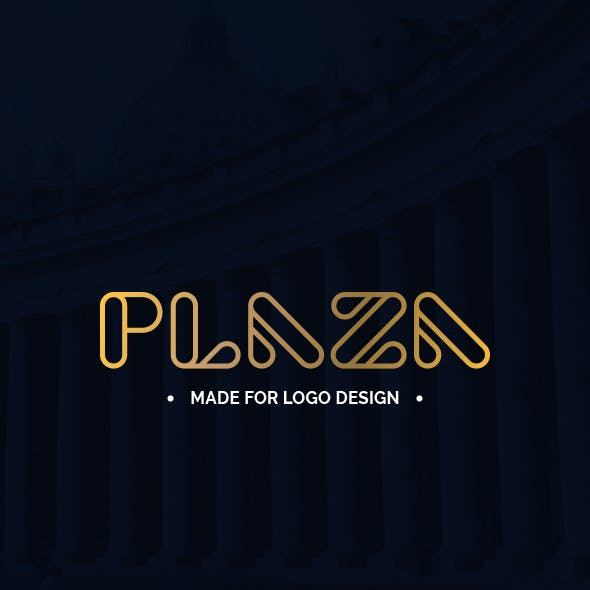 Plaza - Made for Logo Design