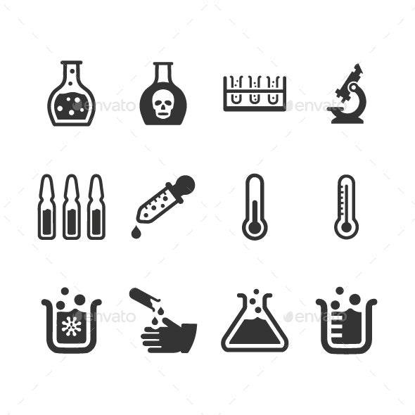 Laboratory Icons - Web Icons